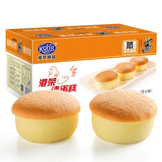 港荣蒸蛋糕