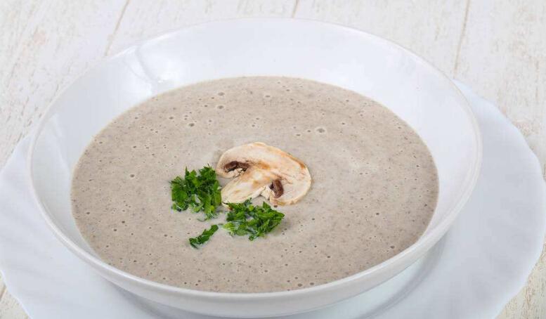 野菌奶油蘑菇汤