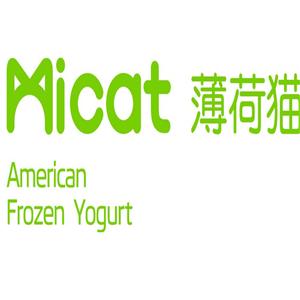 薄荷猫冻酸奶