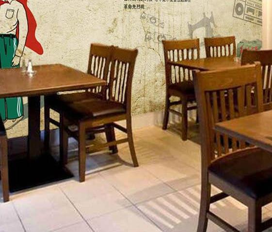 怀旧主题餐厅