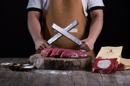 潮汕牛肉丸制作
