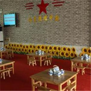 红色主题餐厅
