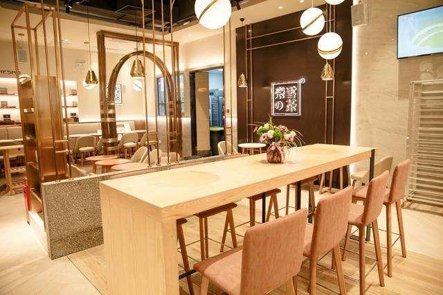奈雪の茶加盟店
