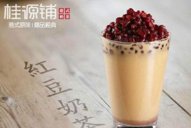 桂源铺红豆奶茶